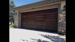 Utah Garage Door Painting ( make your doors look like wood) Divine ...