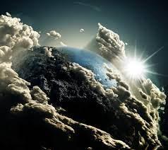 Earth Space View Clouds Desktop Wallpaper