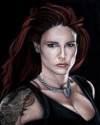 lita black velvet painting by bruce white