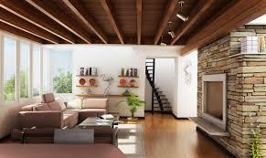 Cottage style house interior design