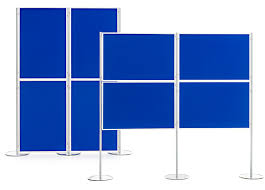 Free Standing Display Board Panel and Pole Display Board Made in UK Modular Display Boards 9