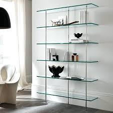 modern glass bookcase bookcase glass living room furniture ultra modern modern glass shelf decor modern glass bookcase