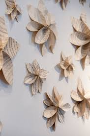 newpaper wall decor