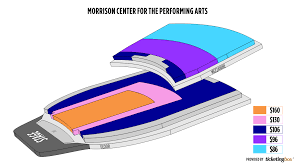 Idaho Center Concert Seating Chart Boise Morrison Center For The Performing Arts Seating Chart