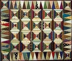 Log Cabin ~ Courthouse Steps variation | Quilts; quilted ... & Image Detail for - Quilts: Log Cabin (Courthouse Steps variation) scrappy Adamdwight.com
