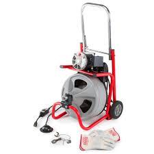 115 volt k 400 drain cleaning drum machine with c 32 3