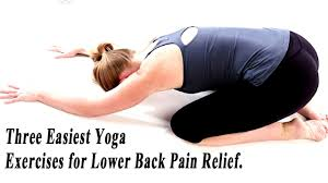 yoga pose for lower back pain relief