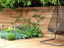 outdoor privacy screen ideas for decks wooden garden fence