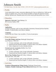 free resume templates 7 simple resume templates free download best professional resume pertaining to 93 most professional resume template