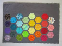 Big Bold BABY HEXAGONS Quilt Pattern from Quilts by Elena &  Adamdwight.com