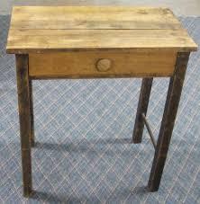 small wooden desk metro studio solid wood computer in honey pine with desks drawers plan 18