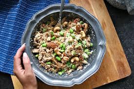 Afvallen met rijst en kip