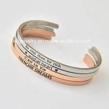 fashion hand sted jewelry whole snless steel custom end bracelets pictures photos