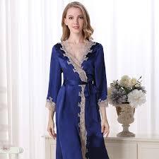 plus size silk robe 100 women silk robes sexy loosen casual fashion brand night