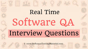 Real Time Software Qa Interview Questions And Answers