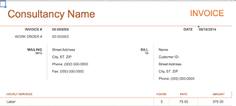 Sample Invoice For Consulting Services 10 Simple Invoice Templates Every Freelancer Should Use