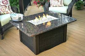 coffee table fire pit outdoor