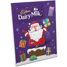 advent calander dairy milk advent calendar christmas chocolate cadbury gifts direct