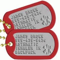 Medical ID Tags