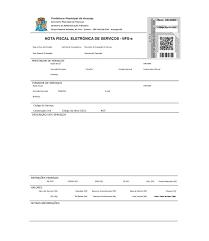 Aracaju/SE - ISS - Nota Fiscal Eletrônica de Serviços - Modelo (Comentário  - Municipal -