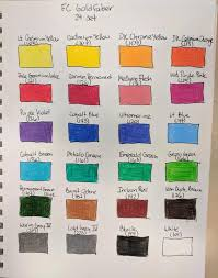 Faber Castell Classic Colour Chart Faber Castell Goldfaber Opinions Wetcanvas
