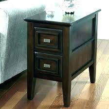 small end table with drawer medium size of bedroom end tables with drawers black wood bedside