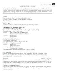 Sample Resume Chronological Format Chronological Order Resumes