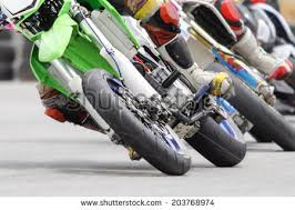 motard motorcycle corner track stock photo 203768974 shutterstock