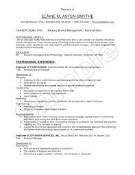Objective For Resume For Bank Job Resume Format For Bank Jobs Investment Banking Luxury Sample