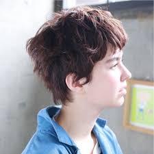 ベリーショートヘアで女度upベリーショートパーマカタログ Arine