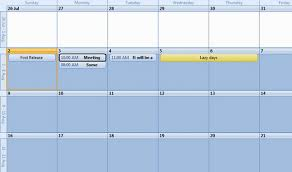 Sample Agenda Calendar Fascinating A Professional CalendarAgenda View That You Will Use CodeProject