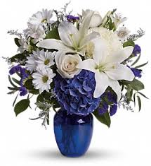 beautiful in blue in tulsa ok rose s florist