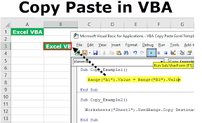 Vba Copy Paste Top Ways To Copy And Paste In Vba With