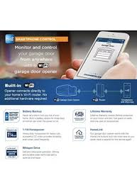 chamberlain wd1000wf 1 1 4 hps controlled wi fi garage door opener smartphone
