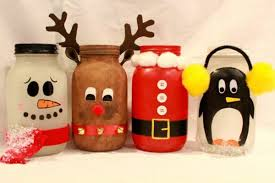 Decorated Jam Jars For Christmas Christmas Jam Jar Decoration Ideas Psoriasisguru 18