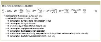 aed2 oxygen oxygen solubility atmospheric exchange