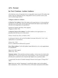 Apa Format Citation Written Communication