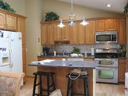 Kitchen With Vaulted Ceilings Kitchen Vaulted Kitchen Ceiling Lanterns Kitchen Lighting For