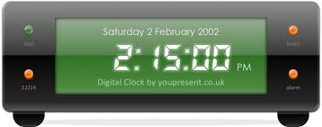 Countdown Clock For Powerpoint Presentation Free Powerpoint Digital Clock Alarm Countdown Youpresent