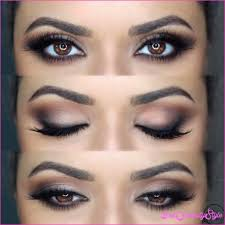 makeup ideas for brown eyes and brown hair 1 jpg