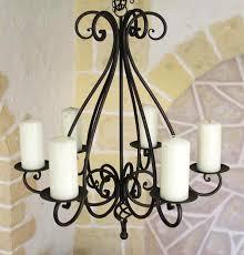 Kronleuchter 95230 Kerzenhalter H 60cm Kerzenständer Hängeleuchter Aus Metall