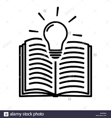 open book symbol stock vector
