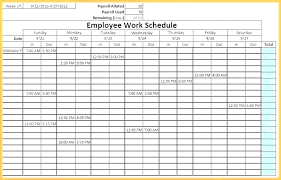 Free Employee Scheduling Template Excel Blank Monthly Work Schedule Template Monthly Work Schedule