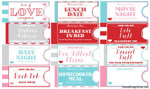 Creative Coupons For Boyfriend Printable Love Coupon Book The Perfect Valentines Day Gift