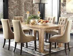 distressed dining room table and chairs interior rustic round dining room tables polished rectangular wooden table