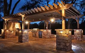 pergola lighting led interiors design