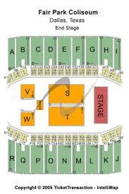 Fair Park Coliseum Tickets And Fair Park Coliseum Seating
