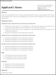 Gallery Of Blank Resume Format For Job Free Samples Examples Job