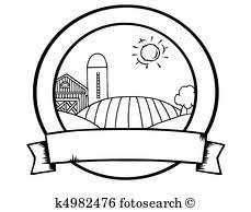 農地 クリップアート K5791307 Fotosearch