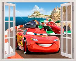 Stilvoll Cars Wandtattoos In Italien Für Kinderzimmer Disney 2 Us ...